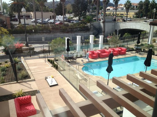 French Windows Open Up To This View From My Room Picture Of The Waterman Santa Barbara Tripadvisor