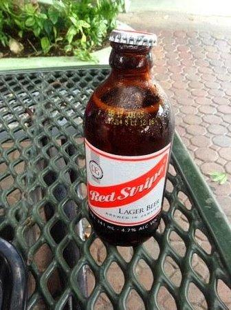 Pork Pit: Red Stripe Beer