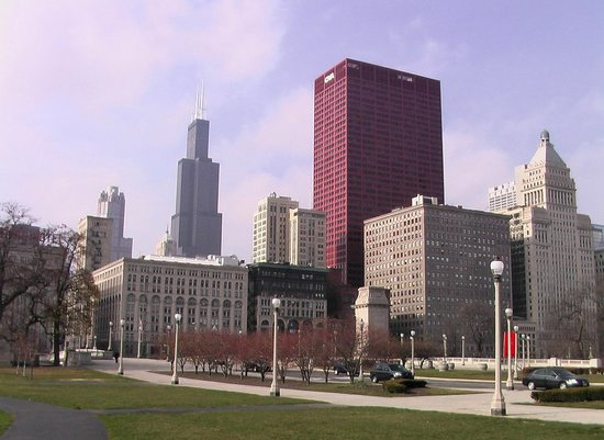 Willis Tower Da Grant Park Picture Of Skydeck Chicago