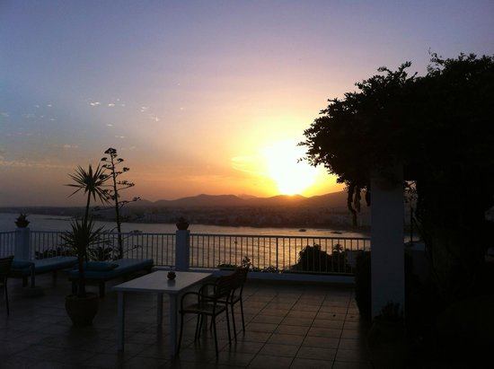 Hostal MarBlau Ibiza: View from the hotel terrace
