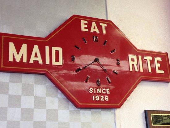 Maid-Rite : Clock