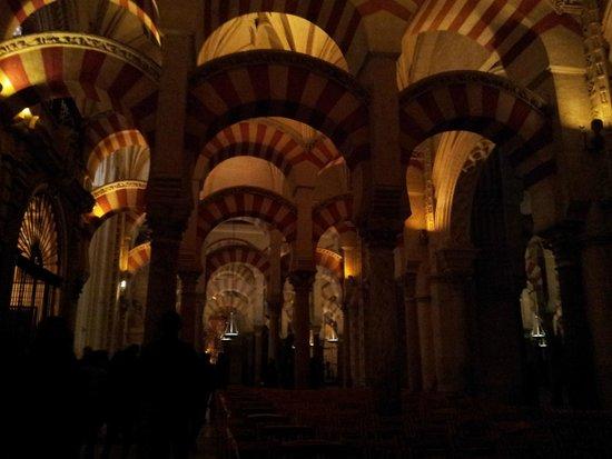 Una de las visita a la mezquita por la noche fotograf a - Mezquita de cordoba de noche ...