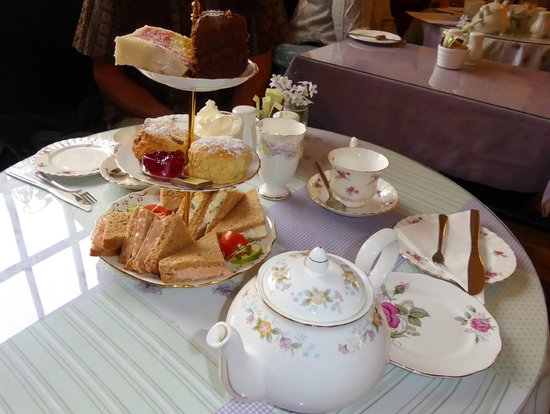 The Chantry Tea Room: Tea for Two