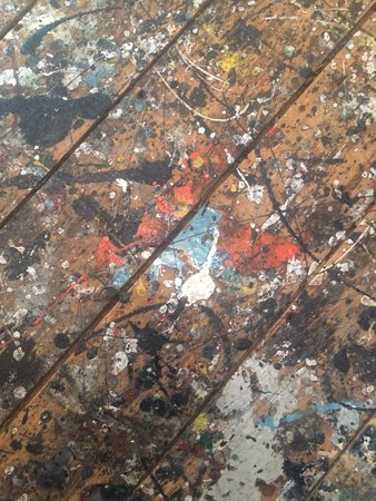 Pollock-Krasner House and Study Center : Spoilers spillers