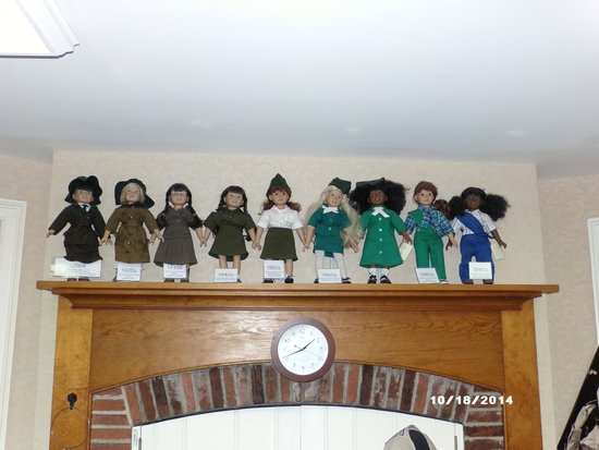 Juliette Gordon Low's Birthplace: Dolls from the decades