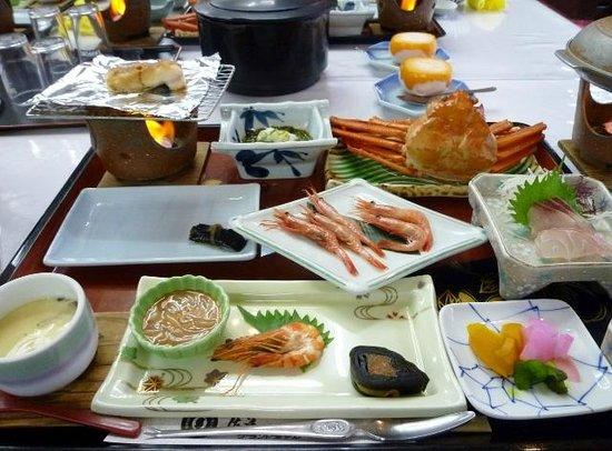 Sado Grand Hotel: 1泊目の夕食