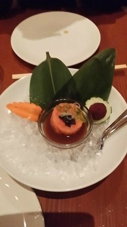 Matsuhisa-Aspen : Salmon Tartare with Caviar...