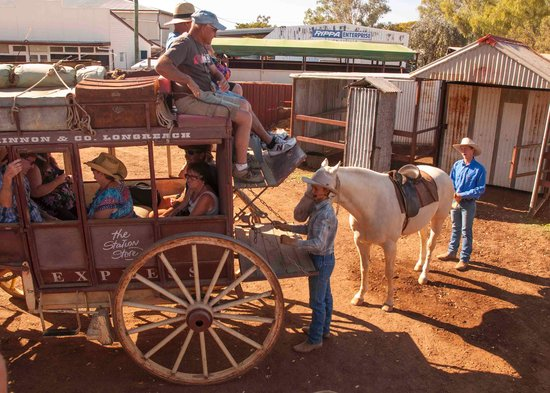 Outback Pioneers: All aboard