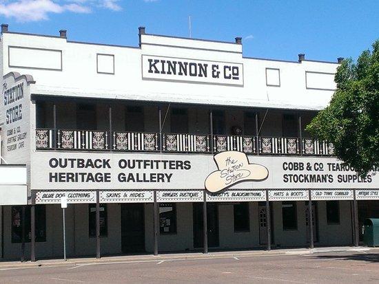 Longreach, Australia: Booking office