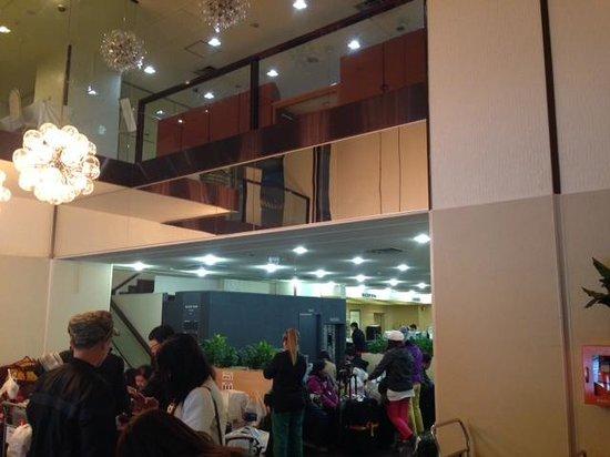 Shinjuku New City Hotel: お客様は、外国人が目立ちます