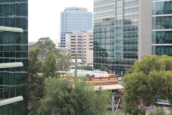 Mantra Parramatta: View from Room