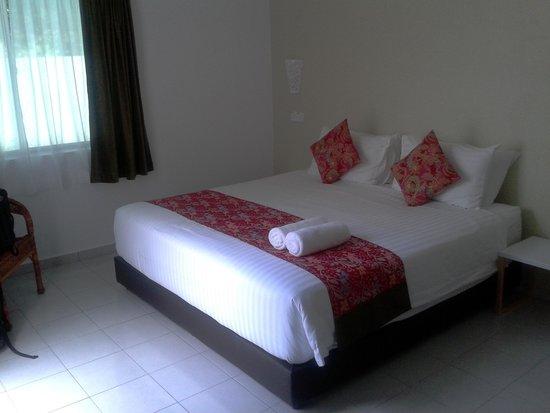 The Fint Hus Langkawi : Bedroom area