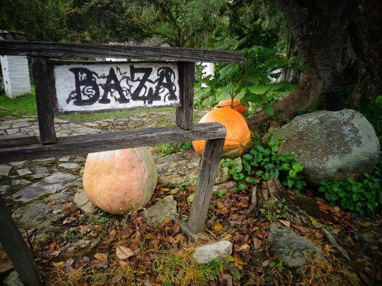 Hacienda Baza Hotel: Hacienda Baza sign