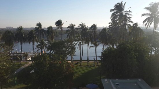Beach Luxury Hotel : View from the room window