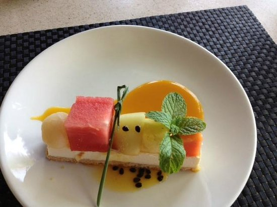Likuliku Lagoon Resort: Dessert