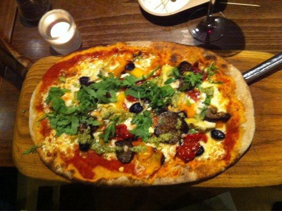 Zizzi - Earls Court : Pizza rustica primavera (végétarienne)
