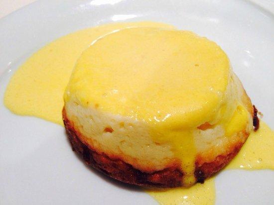 Trattoria Carducci: tortino al formaggio