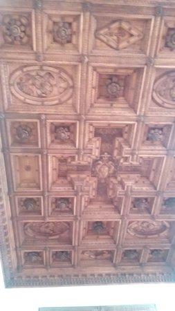 Palazzo Farnese : Soffitto a cassettoni