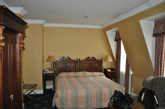 Arbutus Hotel: interno della camera