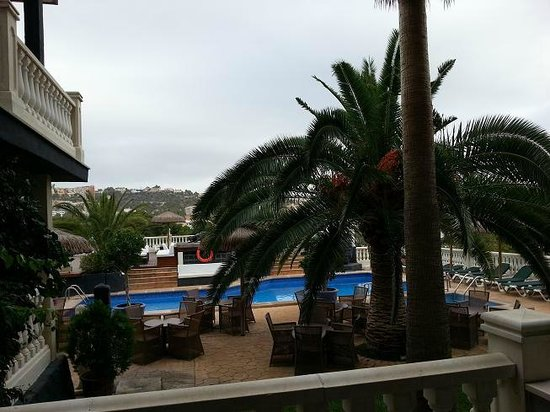 Hotel Bon Repos: View from Room Terrace