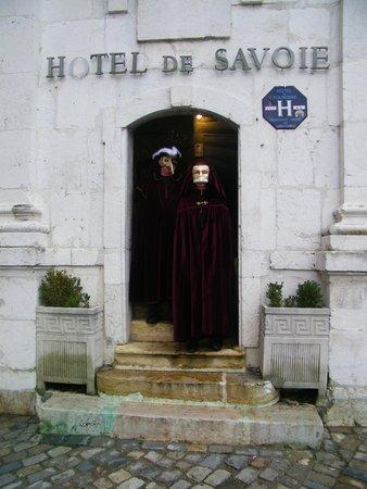 Hotel de Savoie: entée