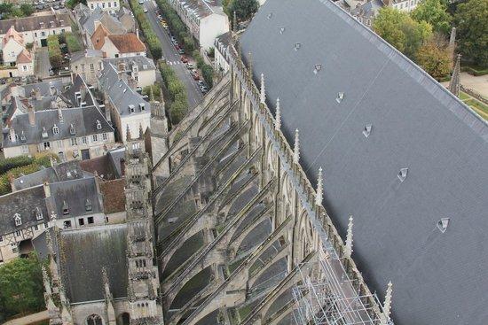 Tour et Crypte de la Cathédrale de Bourges : cathédrale