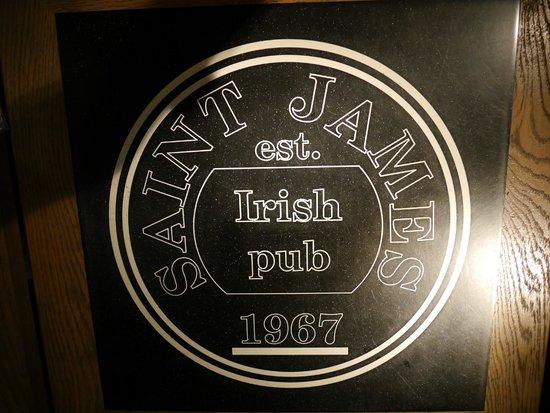 Irish Pub Karaka: Салфетка на столе