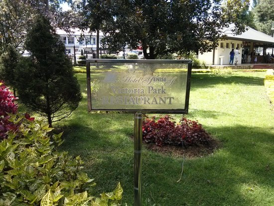 name board - Picture of Victoria Gardens Restaurant, Nuwara Eliya ...