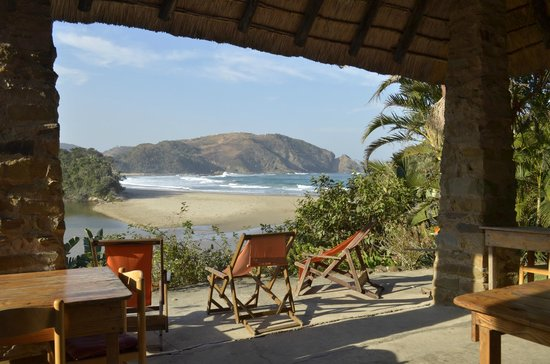 The Lodge on the Beach: View from the Veranda