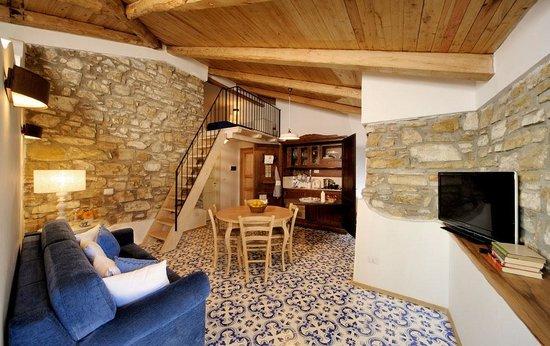Residenza Matarazzo E Le Sue Soffitte: Soffitta Blu - soggiorno