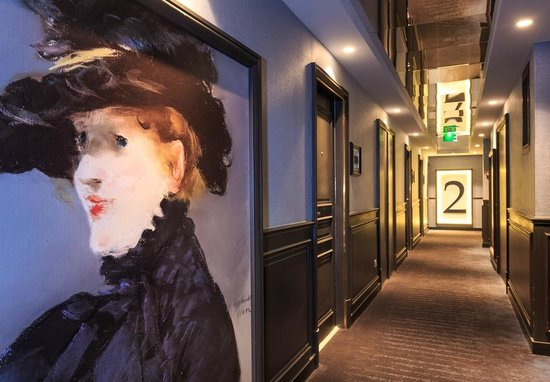 Grand Hotel La Cloche Dijon - MGallery Collection : Couloirs