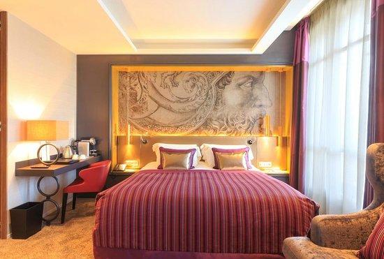 Grand Hotel La Cloche Dijon - MGallery Collection : Chambre Deluxe