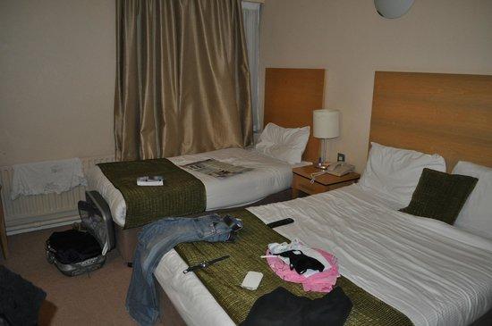 Treacys West County Conference & Leisure Hotel : interno camera