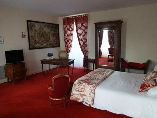 Domaine de Presle: 広々とした部屋