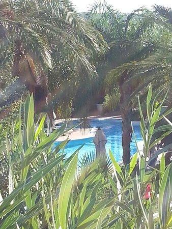 Cruccuris Resort: Vue de la terrasse de la chambre