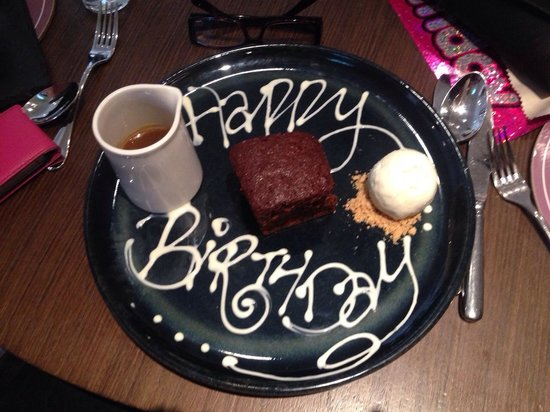 Kettering Park Hotel and Spa: dessert
