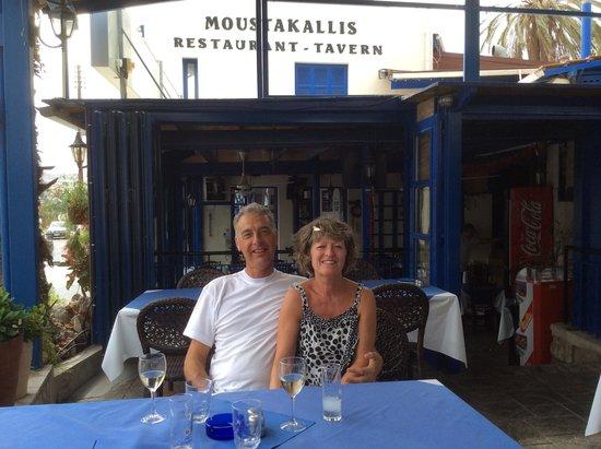 Moustakallis Tavern: Lunch September 2014