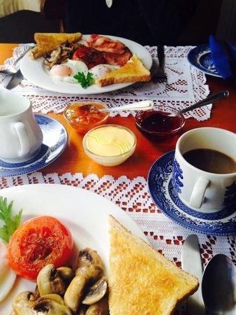 Cambridge House Bed & Breakfast: Amazing breakfast!