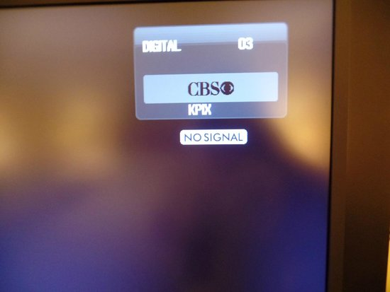 Fremont Marriott Silicon Valley: could not get CBS channel
