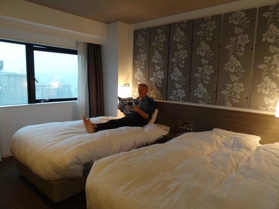 Daiwa Roynet Hotel Yokohama Koen : Standard Twin room