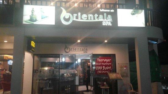 Orientala Spa : board