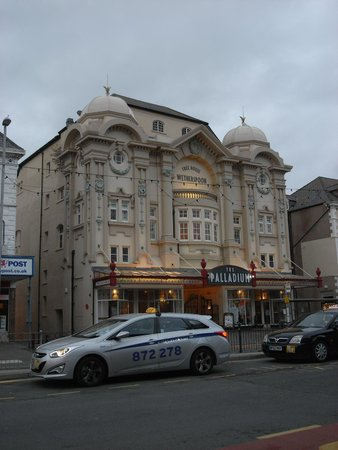 The Palladium is a converted art deco cinema with lots to look at inside
