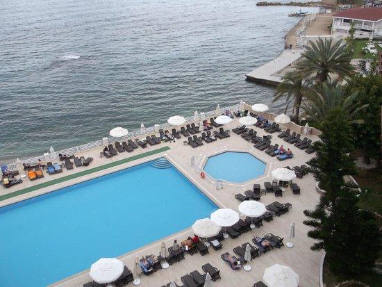 Jasmine Beach Resort: Вид из номера