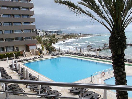 Jasmine Beach Resort: Вид с террасы