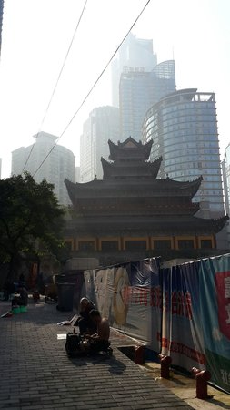 Chongqing Luohan Temple: From the out side