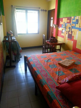 Diva Guesthouse: Double bed room with fan and ensuite