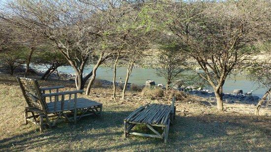Zingela Safaris & River Camp : Relaxing place at Zingela