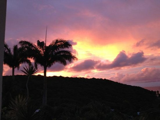 Caraibes Bonheur : coucher de soleil