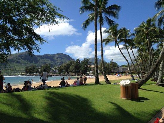 Duke's Kauai : Bar View