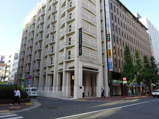 JR Kyushu Hotel Blossom Fukuoka: 8階建てでこぢんまりとしています